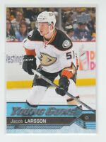 (74902) 2016-17 UPPER DECK YOUNG GUNS JACOB LARSSON #495 RC