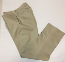"J. Crew Men's Khaki Pants Essential Chino Sz 29"" X 31.5"" Flat Front"