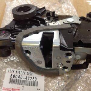 TOYOTA LEXUS SCION  NEW OEM LH FRONT DOOR LOCK W/MOTOR  69040-42250