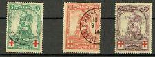 Belgien Mi.Nr. 104 - 106  gestempelt