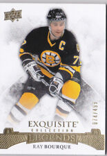 15-16 UD Exquisite Ray Bourque /499 Boston Bruins Base 2015