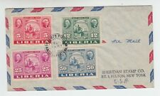 Liberia # 300 C54-56 Stamp on Stamp US Stamp Centennial
