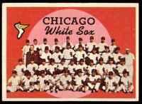 1959 Topps Set Filler Marked/Creased Team Chicago White Sox #94
