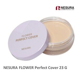 NESURA Dayb Flower Perfect Cover 23 G #1 & #2 Herb Flower Foundation & Conseler