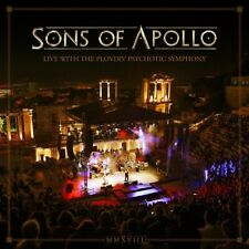 SONS OF APOLLO - LIVE WITH THE PLOVDIV PSYCHOTIC SYMPHONY  4 CD NEU