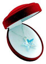 TOP *STERN* - 28 mm- Crystal AB - Halskette mit Swarovski Elements Geschenkbox