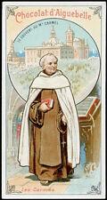 santino-santo card FRAILES DE AIGUEBELLE CARMELITAS