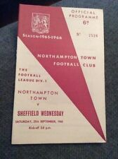 First Division Home Teams L-N Football Programmes