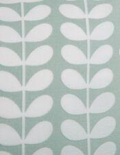 Orla Kiely lineal pequeño vástago Huevo De Pato muestra Swatch pequeño pedazo de tela de algodón nueva