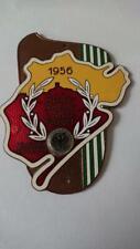 ADAC Badge / Plaque 1956 Porsche classic car