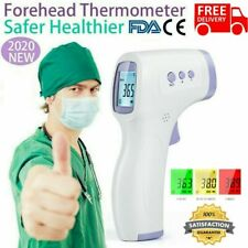 Infrared Thermometer Digital LCD Forehead No-Touch Body Adult Temperature Gun KC