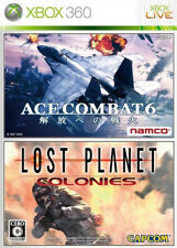 New Xbox 360 Ace Combat 6 + Lost Planet