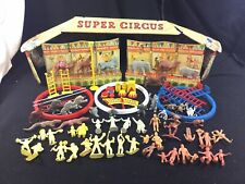 Vintage Marx Super Circus Playset