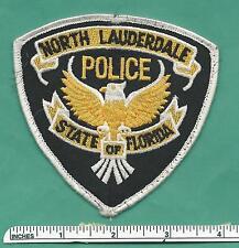 North Lauderdale Florida FL Fla Defunct Police Shoulder Patch - Broward County