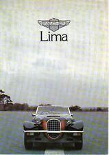 Panther lima 2279cc couleur originale uk sales brochure non daté