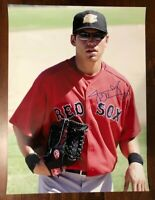 Jacoby Ellsbury Red Sox SIGNED 18x24 Photo Autograph Auto Yankees full signature