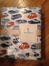Pottery Barn Kids Cars Twin Sheet Set 100% Organic Cotton Nwts
