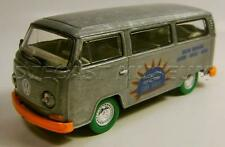 VOLKSWAGEN TYPE 2 BUS VAN RAW GREEN MACHINE CHASE CAR GREENLIGHT GL DIECAST RARE