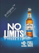 AMSTEL BEER 0% Alcohol Print Ad # 91 1