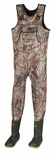 Pro Guide Mossy Oak Duck Blind Camo Neoprene Hunting Wader Lug Sz 9 1000 Grams