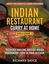 Misty Ricardo's Curry Kitchen - Indian Restaurant Curry at Home Vol. 1 Cook Book