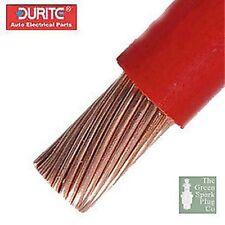 Durite - Rígido Cable De Arranque Rojo Por Metro