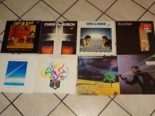 Chris de burgh - 8 diferentes LP 's colección: Crusader, into the fire, Flying...