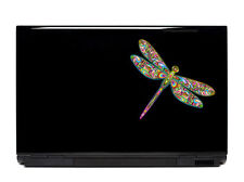 Ornate Dragonfly Vinyl Laptop or Automotive Art sticker decal computer auto