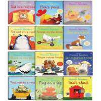 Usborne Phonics Readers 12 illustrated Books Set Collection - Read at Home NEW