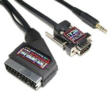 ZX Spectrum NEXT High Quality RGB Scart Lead Video Cable TV Lead