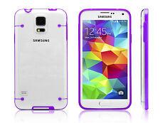 nachtleuchtend Schutz Hülle für Samsung Galaxy S5 Cover Case Tasche Schale Etui