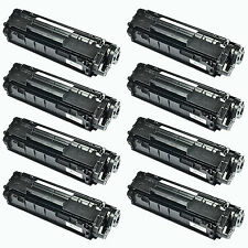 8PK Compatible with HP Q2612A 12A Toner Cartridge for LaserJet 1010 1012 1018