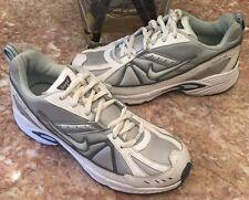 Nike Dart VI 6 Youth Gray/White Athletic Running Shoes Sz 3.5Y - 318858-041 EUC