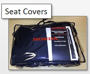 GENUINE HONDA ACCORD/TOURER 09-15 REAR SEAT COVERS *UK CARS ONLY*