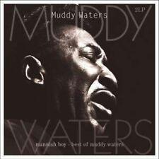 Mannish Boy-Best Of - 2 DISC SET - Muddy Waters (2014, Vinyl NEUF)