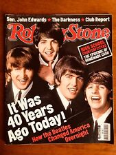 ROLLING STONE FEB 2004 The Beatles: 40 Year Anniversary Special Edition!