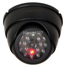 Factice Dôme Fausse caméra de sécurité Fausse Ir Rouge Clignotante Lumière DEL Nouveau UK