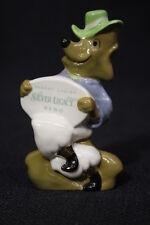 "Wade England 4"" Porcelain Fox Figurine 1998 R.Ellis Design 1/350"