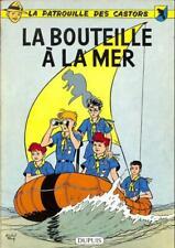 La Patrouille des castors 5 La bouteille à la mer (Mitacq) (t. proche neuf)