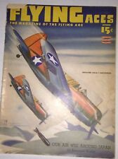 Flying Aces Magazine Our Air Web Around Japan October 1943 010217RH