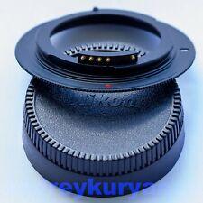 M42-Nikon F with AF confirm programmable dandelion chip original. NEW. Black.