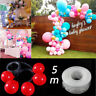 5m Balloon Chain Tape Arch Connect Strip for Wedding Birthday Party Decor Newest