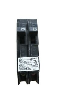 Murray 20 Amp Tandem Single-Pole Type MH-T Circuit Breaker