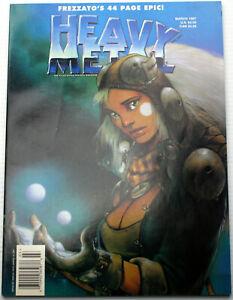HEAVY METAL March 1997 Frezzato 44 page Epic