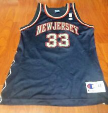Very Rare New Jersey Nets Stephon Marbury Size 44 Champion Jersey