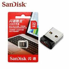 SanDisk CruzerFit CZ33 16G 32G Mini Nano USB Pen Drive Memory Thumb Stick