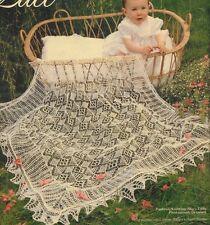 COBWEB DESIGN Baby Knitting Shetland Pattern GORGEOUS Lacy Shawl