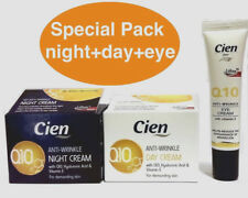 CIEN Q10 AntiWrinkle Face Cream Day & Night and Eye Contour Hypoallergenic