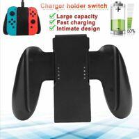 Comfort Grip Charging Handle Bracket Holder Charger For Nintendo Switch Joy-Con