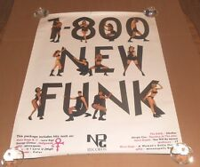 1-800 New Funk Original Vintage Prince Poster Rare 32x24